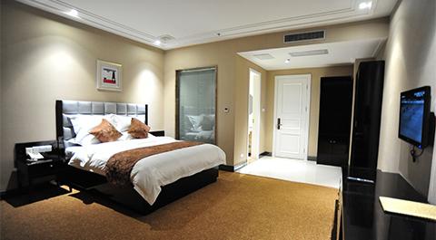星级酒店床架